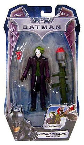 Batman The Dark Knight The Joker Action Figure [Punch Packing, 2009 Packaging]