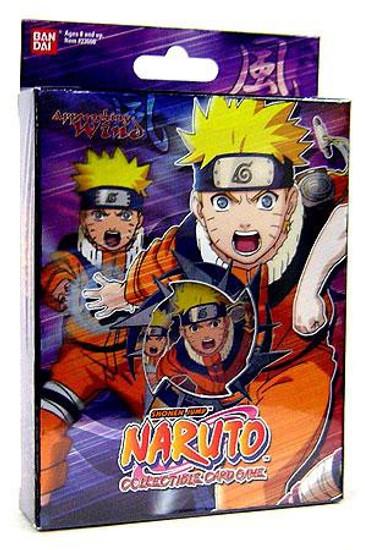 Naruto Card Game Approaching Wind Rampage Tornado Nauto Theme Deck