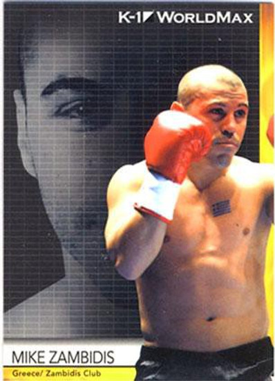 MMA K-1 World GP Mike Zambidis #44