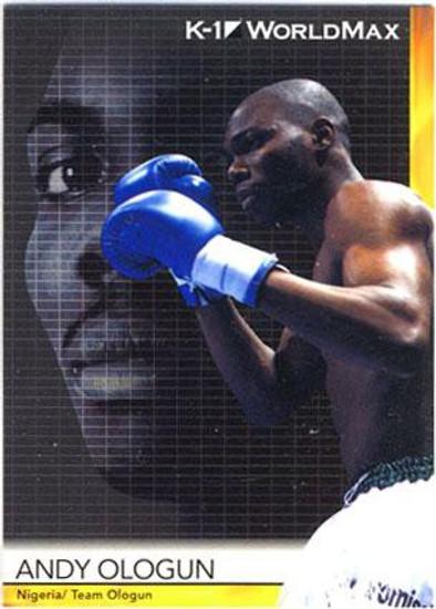 MMA K-1 World GP Andy Ologun #47