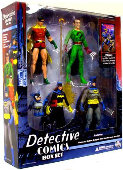 Batman Detective Comics Action Figure Boxed Set