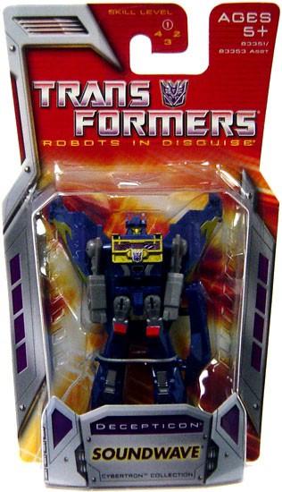 Transformers Robots in Disguise Classics Soundwave Legend Action Figure