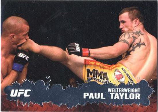 Topps UFC 2009 Round 2 Fighter Paul Taylor #4