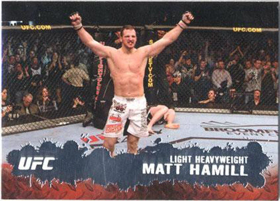Topps UFC 2009 Round 2 Fighter Matt Hamill #8