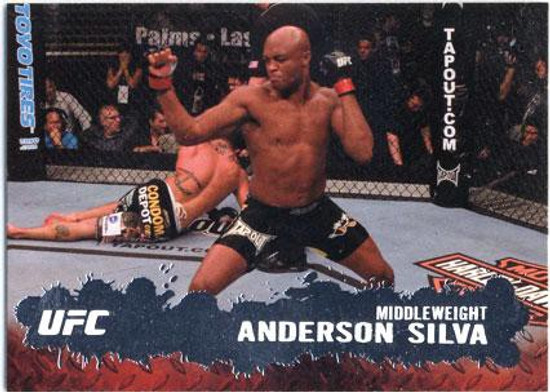 Topps UFC 2009 Round 2 Fighter Anderson Silva #33