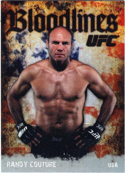 Topps UFC 2009 Round 2 Bloodlines Randy Couture BL-2