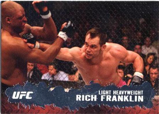 Topps UFC 2009 Round 2 Fighter Rich Franklin #37