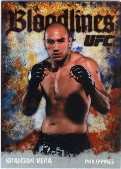 Topps UFC 2009 Round 2 Bloodlines Brandon Vera BL-6