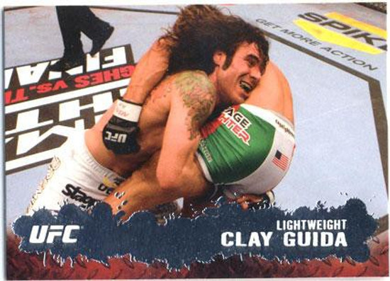 Topps UFC 2009 Round 2 Fighter Clay Guida #45
