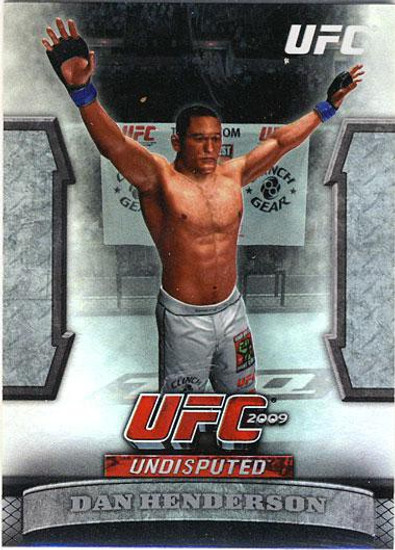 Topps UFC 2009 Round 2 Greats of the Game Dan Henderson GTG-12