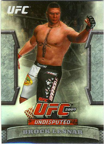 Topps UFC 2009 Round 2 Greats of the Game Brock Lesnar GTG-13