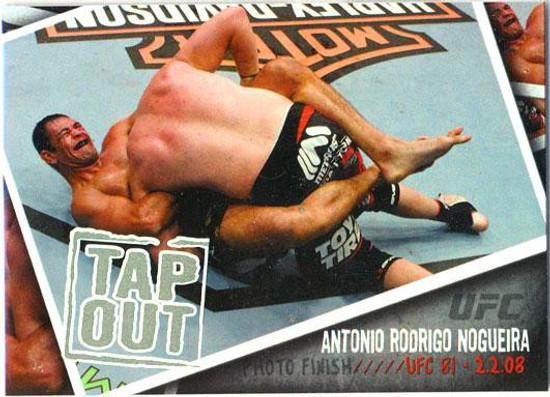 Topps UFC 2009 Round 2 Photo Finish Antonio Rodrigo Nogueira PF-18