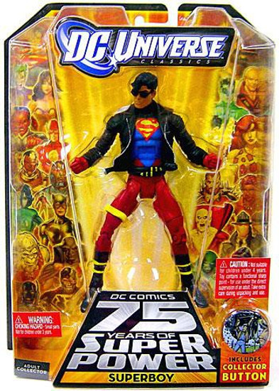 DC Universe 75 Years of Super Power Classics Trigon Series Superboy Action Figure