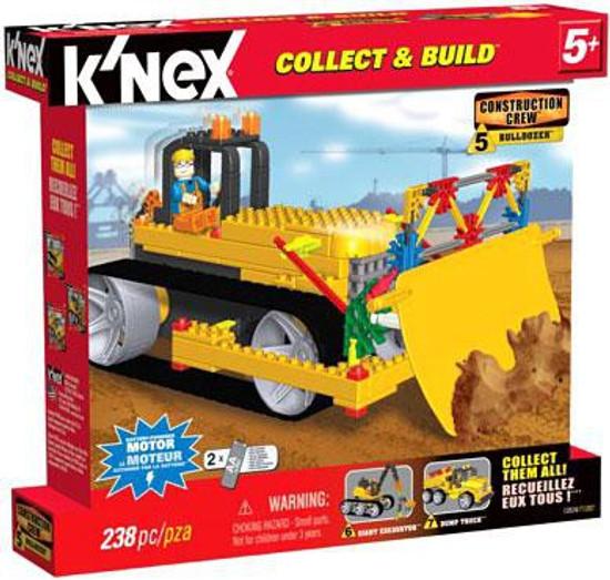 K'Nex Construction Crew Bulldozer Set #13524