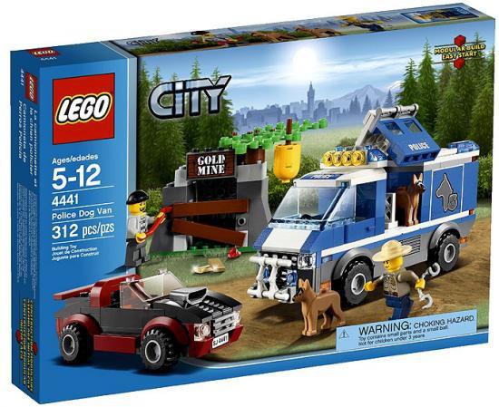 LEGO City Police Dog Van Set #4441