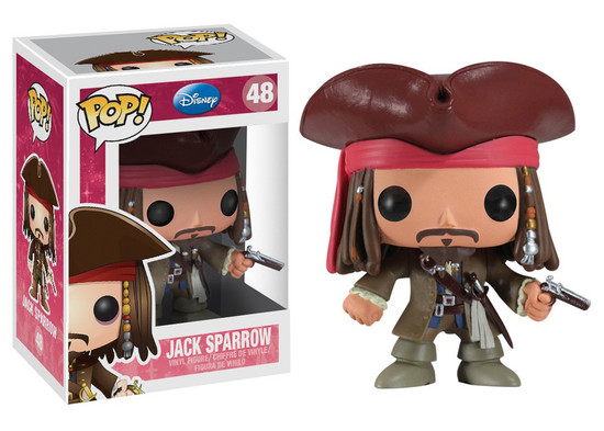 Funko Pirates of the Caribbean POP! Disney Jack Sparrow Vinyl Figure #48