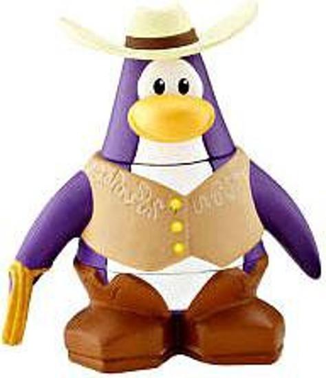 Club Penguin Cowboy 2-Inch Mini Figure