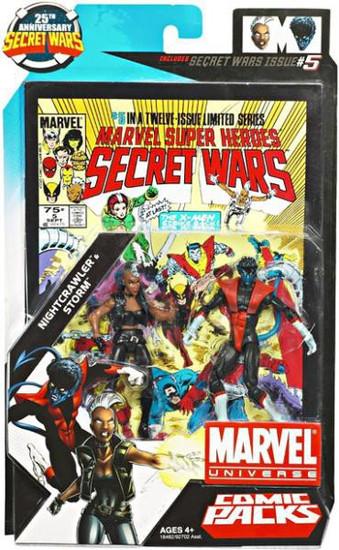 Marvel Universe Nightcrawler & Storm Action Figure 2-Pack #5