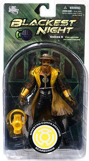 DC Green Lantern Blackest Night Series 8 Sinestro Corps Member Scarecrow Action Figure