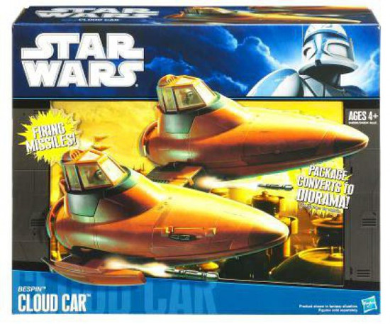 Star Wars The Empire Strikes Back 2010 Bespin Cloud Car 3.75-Inch Vehicle
