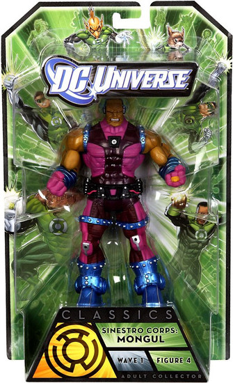 DC Universe Green Lantern Classics Series 1 Mongul Action Figure [Sinestro Corps]