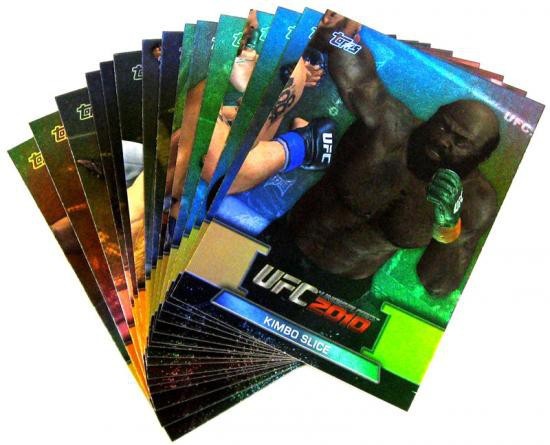 Topps UFC 2010 Championship Greats of the Game Insert Greats of the Game Set