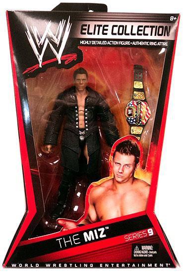 WWE Wrestling Elite Collection Series 9 The Miz Action Figure