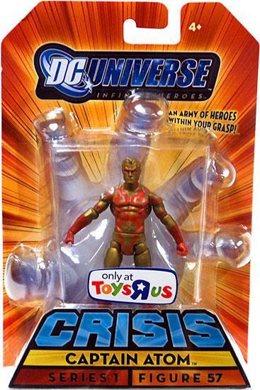 DC Universe Crisis Infinite Heroes Series 1 Captain Atom Exclusive Action Figure #57