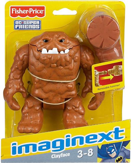 Fisher Price DC Super Friends Imaginext Clayface 3-Inch Mini Figure