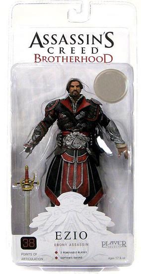 NECA Assassin's Creed Brotherhood Ezio Exclusive Action Figure [Ebony Assassin]