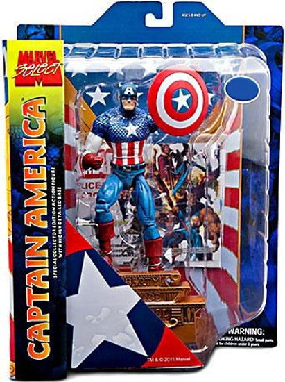 Marvel Select Captain America Exclusive Action Figure [Exclusive]