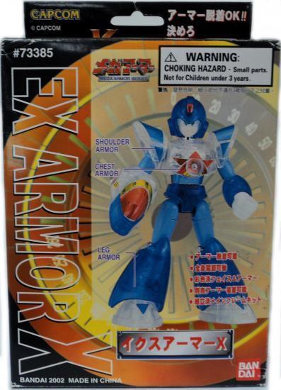 Mega Man X Mega Armor Series EX Armor X Model Kit
