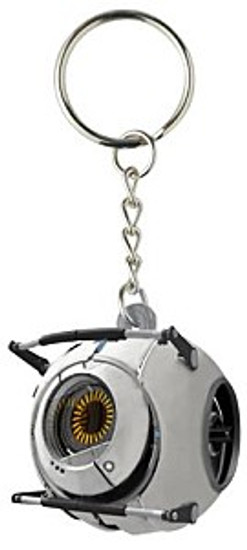 Portal 2 Vinyl Space Sphere Keychain