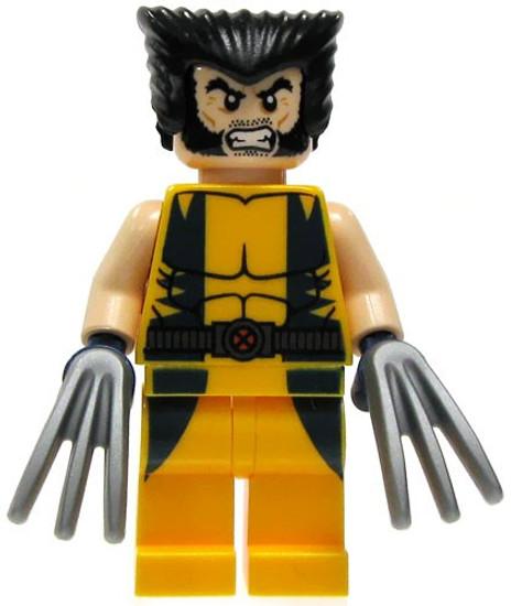 LEGO Marvel Super Heroes Wolverine Minifigure [Loose]