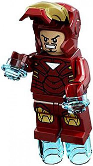 LEGO Marvel Super Heroes Iron Man Minifigure [Mask Up Loose]
