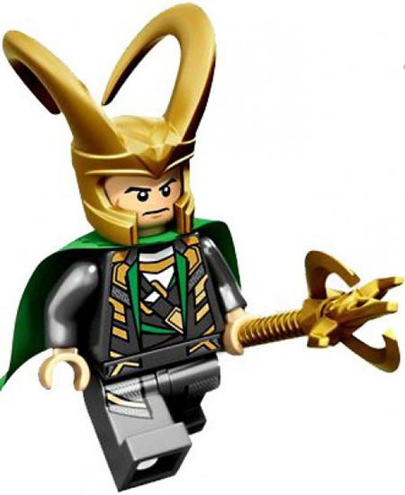 LEGO Marvel Super Heroes Loki Minifigure [Loose]