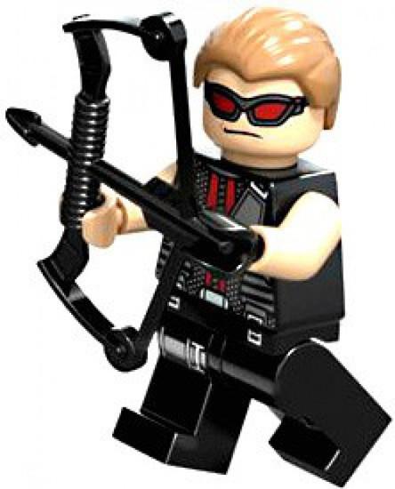 LEGO Marvel Super Heroes Hawkeye Minifigure [Loose]