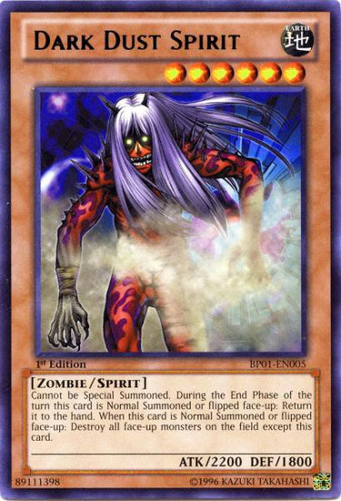 YuGiOh Battle Pack: Epic Dawn Rare Dark Dust Spirit BP01-EN005