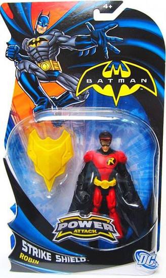 Batman Power Attack Robin Action Figure [Strike Shield]