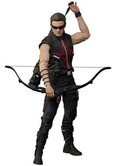 Marvel Avengers Movie Masterpiece Hawkeye Collectible Figure