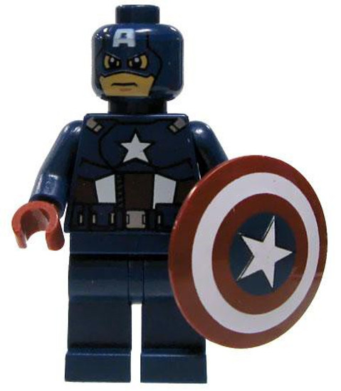 LEGO Marvel Super Heroes Captain America Minifigure [Loose]