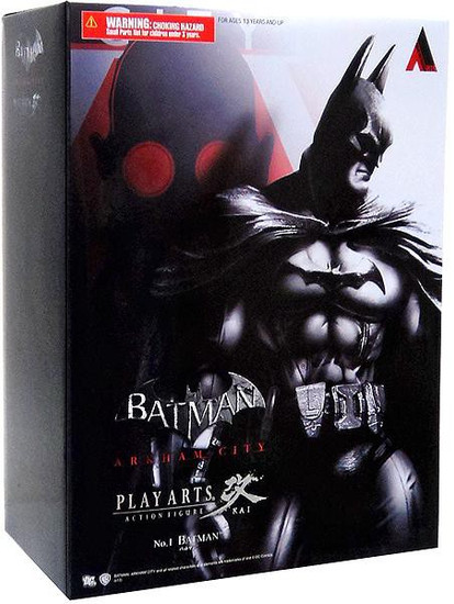 Arkham City Play Arts Kai Series 1 Batman Action Figure