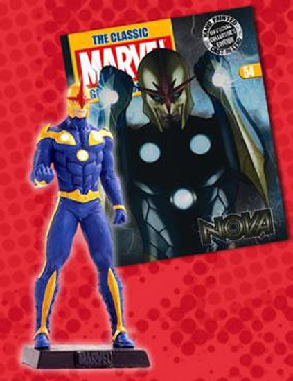 Marvel Classic Figurine Collection Nova Figure #54
