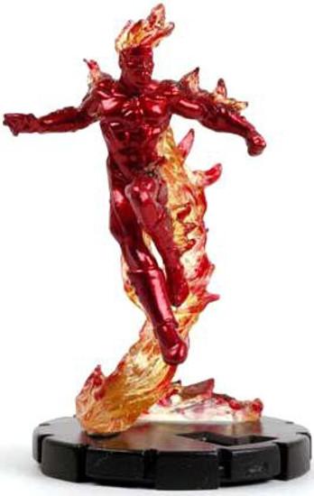Marvel HeroClix Fantastic Forces LE Johnny Storm #209