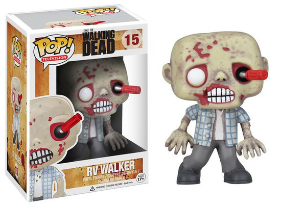 Funko The Walking Dead POP! TV RV Walker Vinyl Figure #15