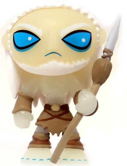 Funko Game of Thrones Series 1 Mystery Minis White Walker 1/72 Ultra Rare Mystery Minifigure [Glow in the Dark Loose]