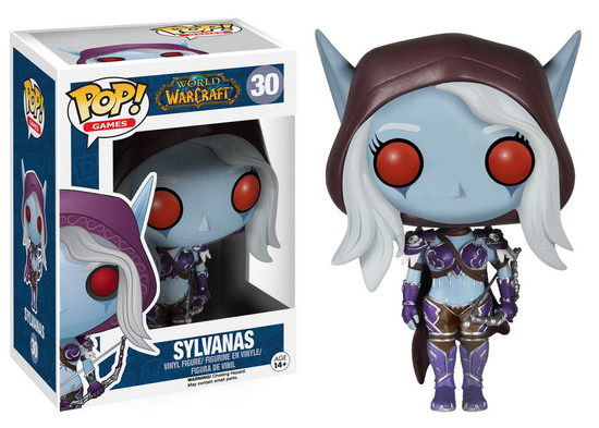 Funko World of Warcraft POP! Games Lady Sylvanas Vinyl Figure #30