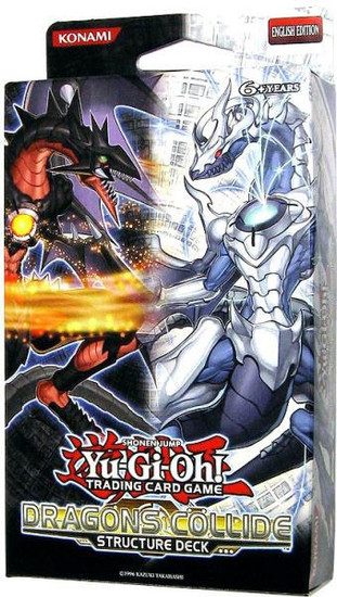 YuGiOh Trading Card Game Dragons Collide Structure Deck