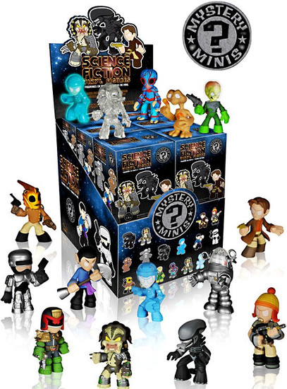 Funko Mystery Minis Science Fiction Series 1 Mystery Box [12 Packs]
