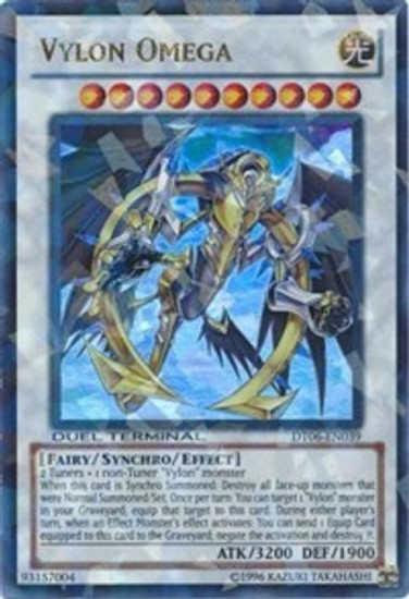 YuGiOh Duel Terminal 6 Parallel Rare Vylon Omega DT06-EN039